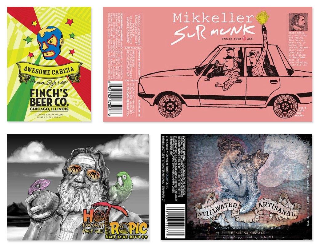 Этикетки современного крафтового пива. Изображение №6.