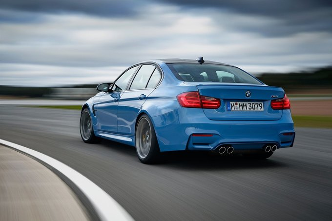 BMW представила новый седан M3 и купе M4. Изображение № 11.