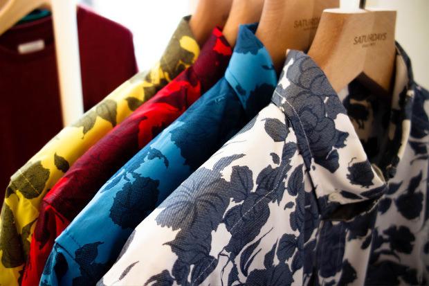 Американская марка Saturdays Surf NYC выпустила превью весенней коллекции одежды. Изображение № 5.