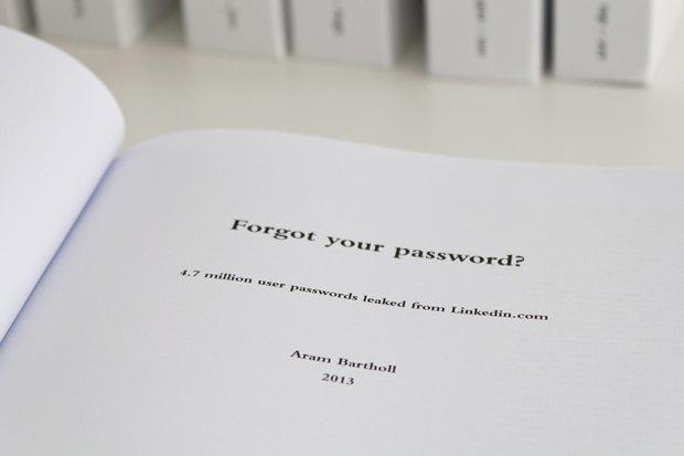 Вышла серия книг с 4,7 миллиона паролей для LinkedIn. Изображение № 4.