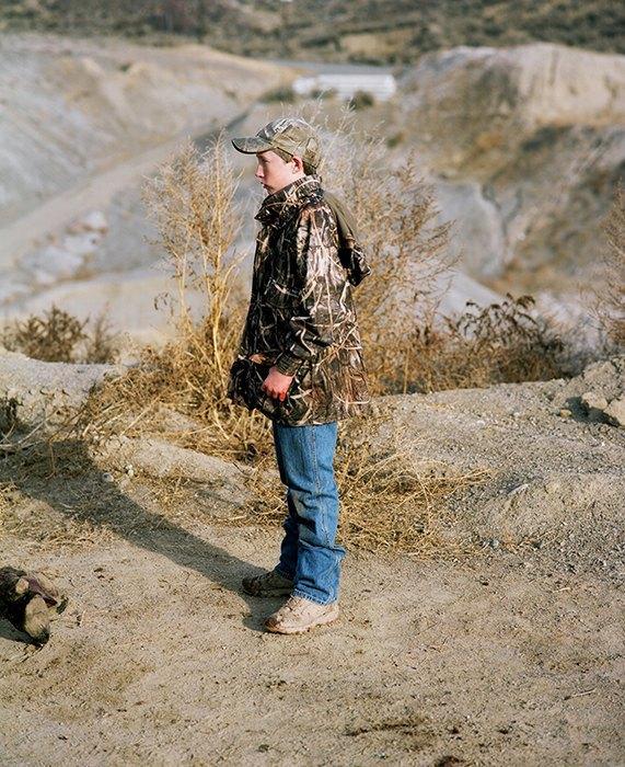 Бытовая жизнь работников бизоньего ранчо в США . Изображение № 21.