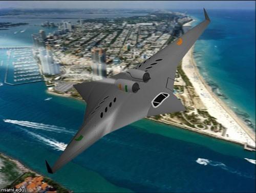 NASA разработает четырехкрылый самолет. Изображение № 1.
