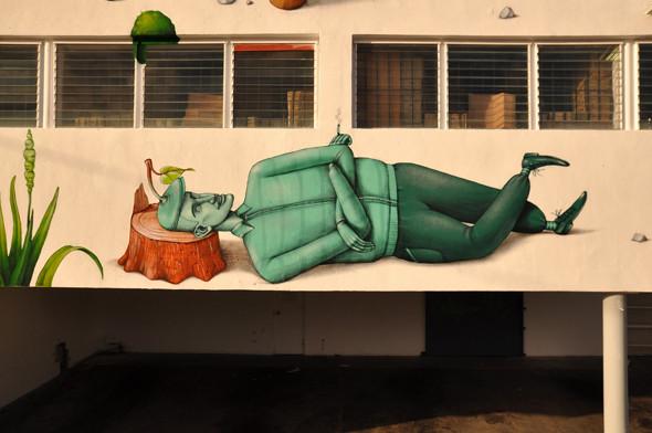 Скетчбук: Участники граффити-дуэта из Киева Interesni Kazki рассказывают о своих лучших работах. Изображение № 44.