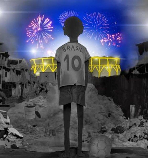 Такой футбол нам не нужен: Граффити против чемпионата мира. Изображение № 15.
