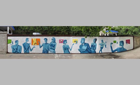 Скетчбук: Участники граффити-дуэта из Киева Interesni Kazki рассказывают о своих лучших работах. Изображение № 19.