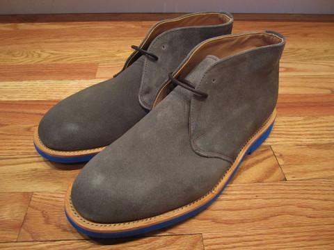Дизайнер Марк МакНейри выпустил весеннюю коллекцию обуви. Изображение № 6.
