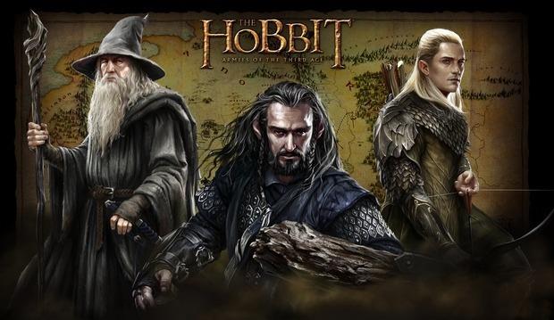 По мотивам кинотрилогии «Хоббит» выйдут две компьютерные игры. Изображение № 1.