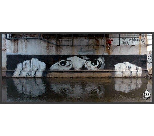 Умер уличный художник Паша 183. Изображение № 5.