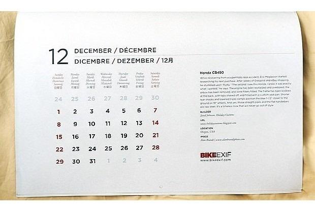 Сайт Bike EXIF выпустил календарь с кастомизированными мотоциклами. Изображение № 5.
