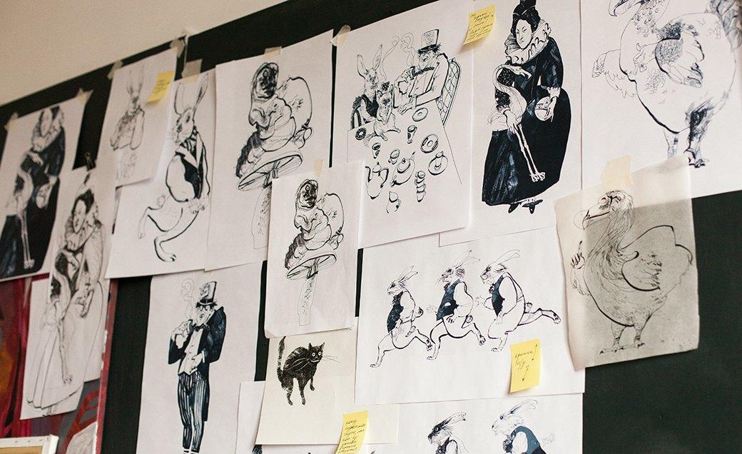 Дом культуры: Молодые московские художники и их мастерские. Изображение № 13.