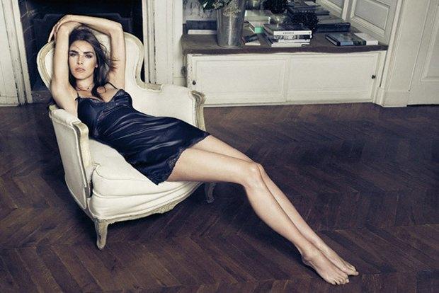 Американская модель Хилари Рода снялась в рекламе нижнего белья. Изображение № 1.