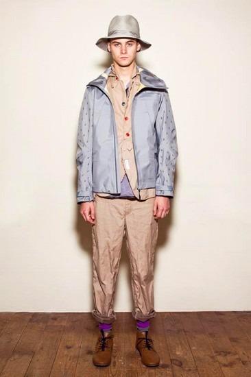 Марка Undercover опубликовала лукбук весенней коллекции одежды. Изображение № 2.