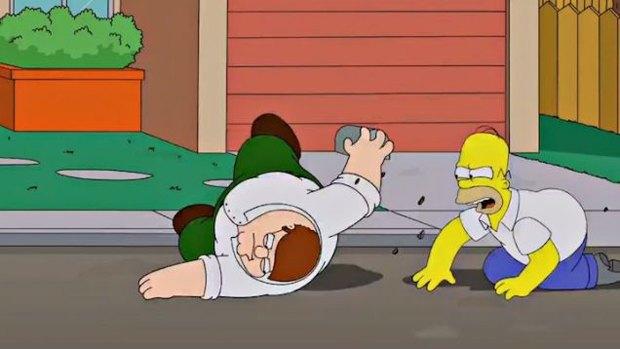 Канал Fox объединит Симпсонов и Гриффинов в одной серии. Изображение № 1.