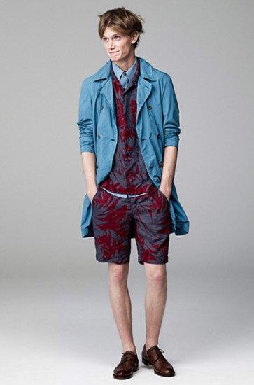 Японская марка Attachment выпустила лукбук весенней коллекции одежды. Изображение № 7.