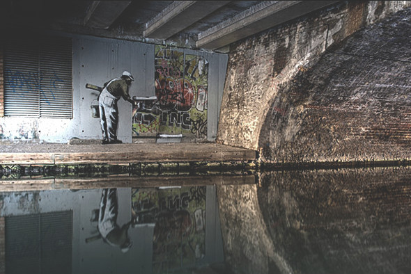 10 последних проектов уличного художника Бэнкси. Изображение № 1.