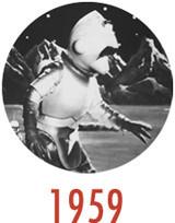Эволюция инопланетян: 60 портретов пришельцев в кино от «Путешествия на Луну» до «Прометея». Изображение № 20.