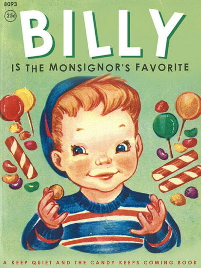 Иллюстратор Боб Стэйк создал пародии на обложки старых детских книжек   . Изображение № 14.