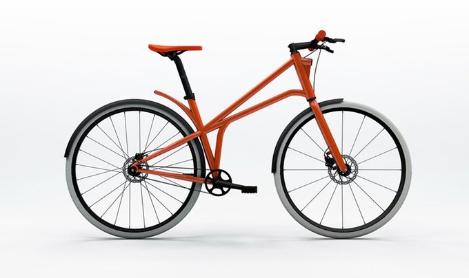 Велофирма CYLO представила новый городской байк. Изображение № 1.