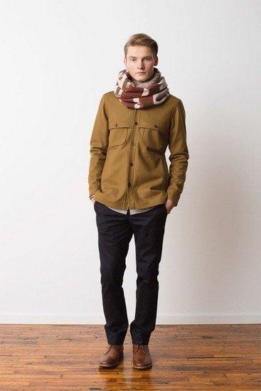 Марка Pendleton выпустила лукбук осенней коллекции одежды. Изображение № 6.