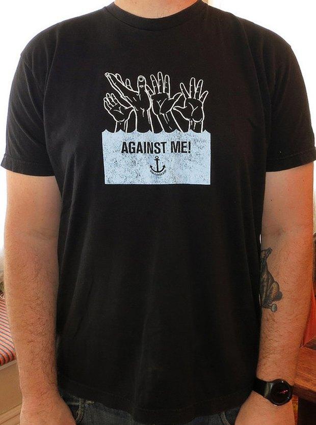Minor Thread: Тысячедневный марафон футболок с логотипами музыкантов. Изображение № 6.