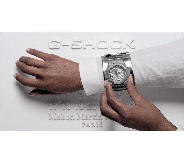 G-Shock и марка Maison Martin Margiela выпустили совместную модель часов. Изображение № 7.