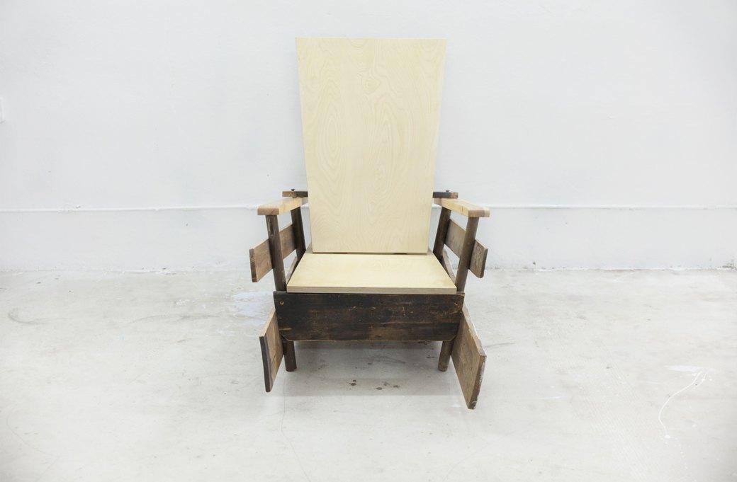 Как сделать деревянное кресло своими руками. Изображение № 18.