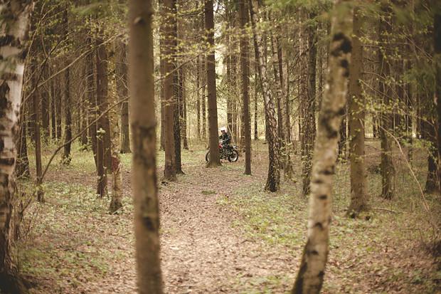 Репортаж со съемок тест-драйва мотоцикла Kawarna. Изображение № 19.