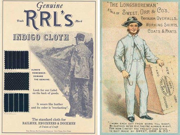 Вабаш и хикори: Традиционные узоры американской рабочей одежды. Изображение № 2.