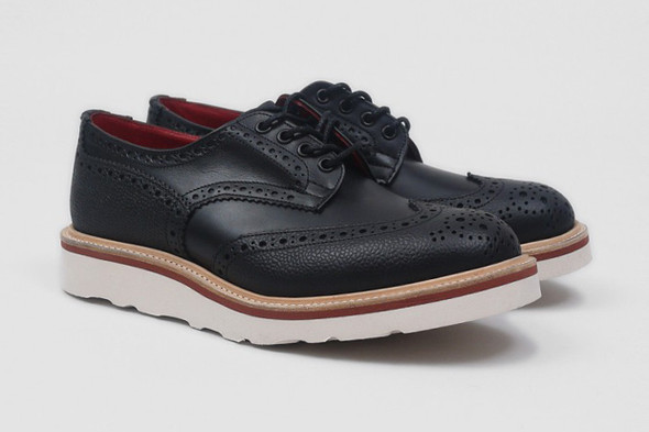 Совместная коллекция обуви марки Tricker's и Present. Изображение № 4.