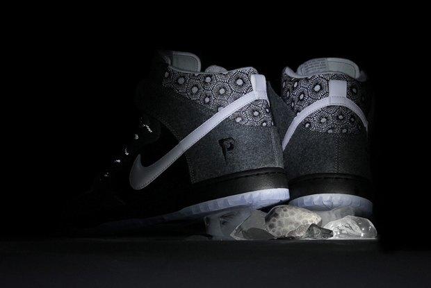 Магазин Premier и марка Nike выпустила совместную модель обуви SB Dunk Hi Premier SE. Изображение № 9.