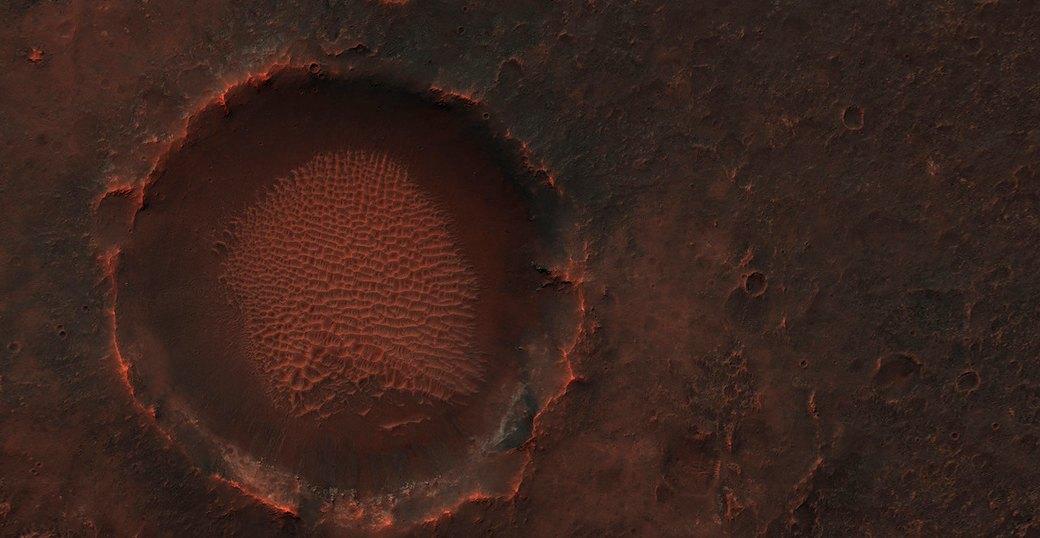 Новые фотографии поверхности Марса, опубликованные агентством NASA. Изображение №4.