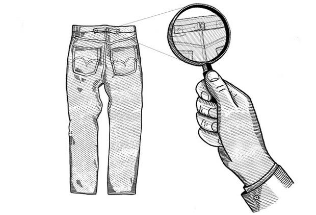 Внимание к деталям: Для чего нужен задний хлястик на джинсах. Изображение № 2.