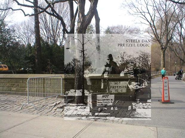 Американский фотограф наложил обложки известных альбомов на современные виды Нью-Йорка. Изображение № 9.