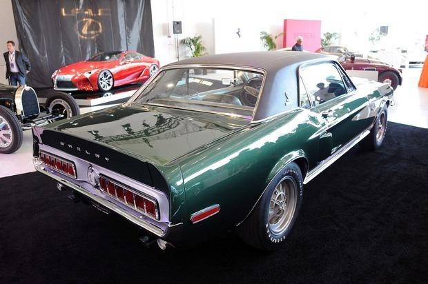 В Америке нашелся уникальный маслкар Shelby Mustang 1968 года. Изображение № 4.