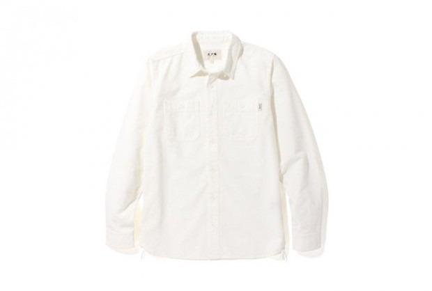 Марки A.P.C. и Carhartt WIP представили совместную коллекцию одежды. Изображение № 8.