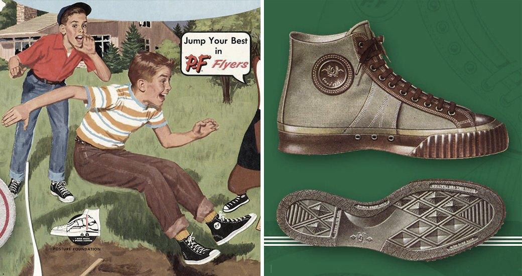 Кеды: История самой простой спортивной обуви в мире и СССР. Изображение №5.
