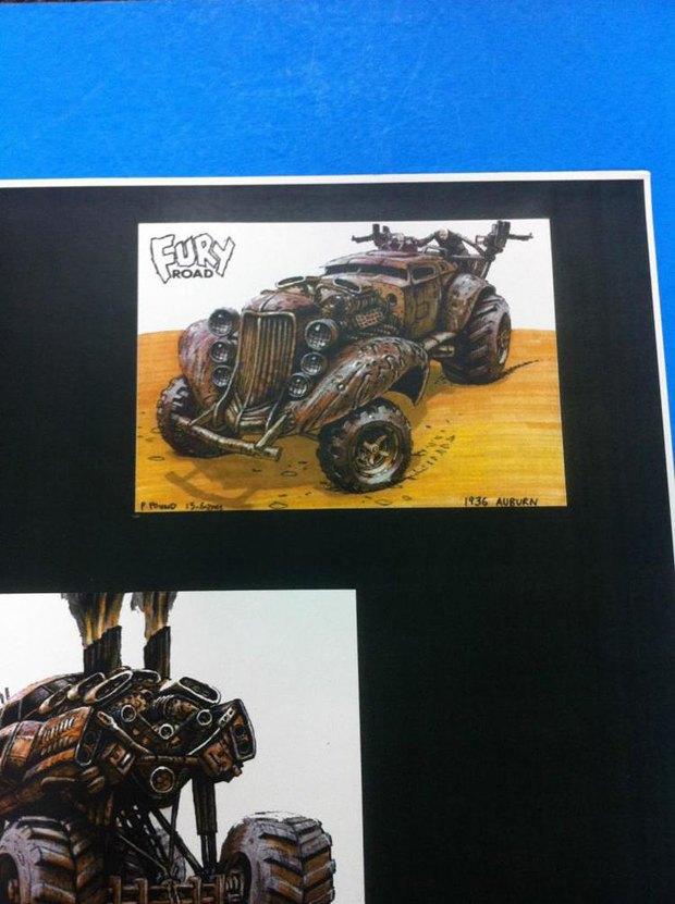 Опубликованы первые концепт-арты фильма «Безумный Макс: Дорога ярости». Изображение № 8.