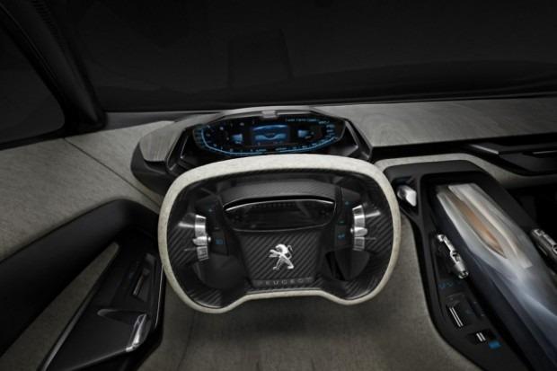 Peugeot анонсировал выпуск гибридного суперкара Onyx. Изображение № 6.