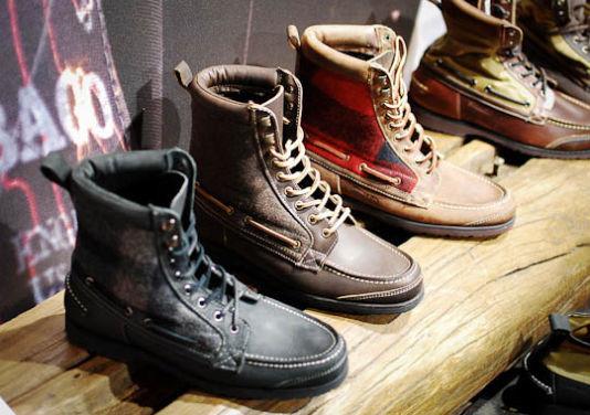Совместная коллекция обуви марок Sebago, Filson и Woolrich. Изображение № 2.