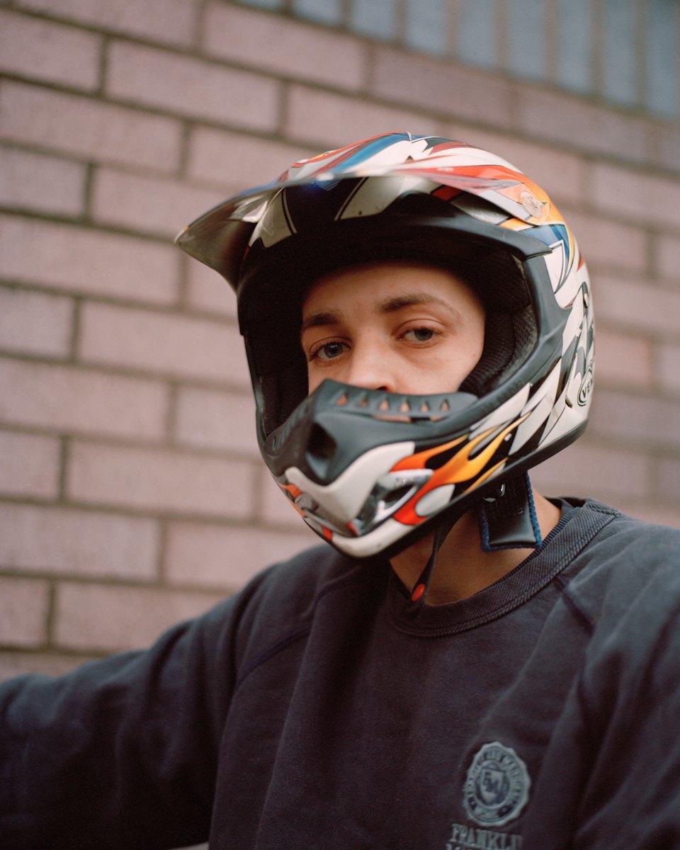 Фотопроект: Лондонские гопники и их мотоциклы. Изображение № 9.