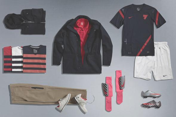 Коллекция одежды Криштиану Роналду и интервью со знаменитым футболистом. Изображение № 5.