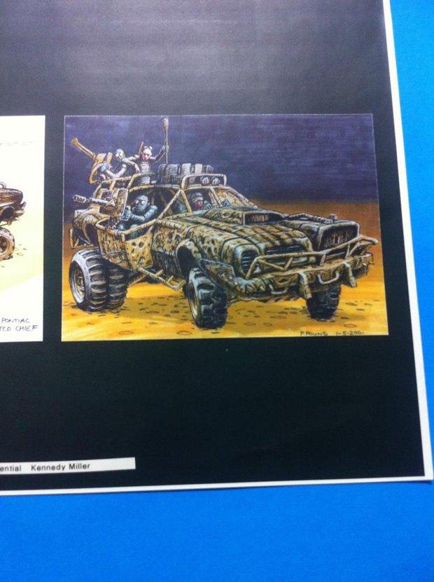Опубликованы первые концепт-арты фильма «Безумный Макс: Дорога ярости». Изображение № 7.