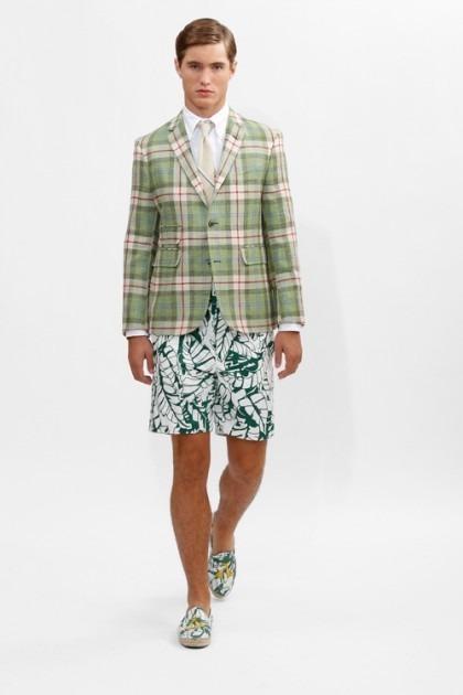 Марка Brooks Brothers представила новую коллекцию одежды линейки Black Fleece . Изображение № 12.