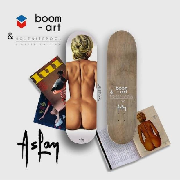 Компания Boom-art выпустила деки для скейтбординга с иллюстрациями обнаженных девушек. Изображение № 4.