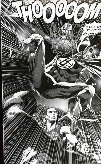 Marvel представили первого в истории супергероя-баскетболиста. Изображение № 10.