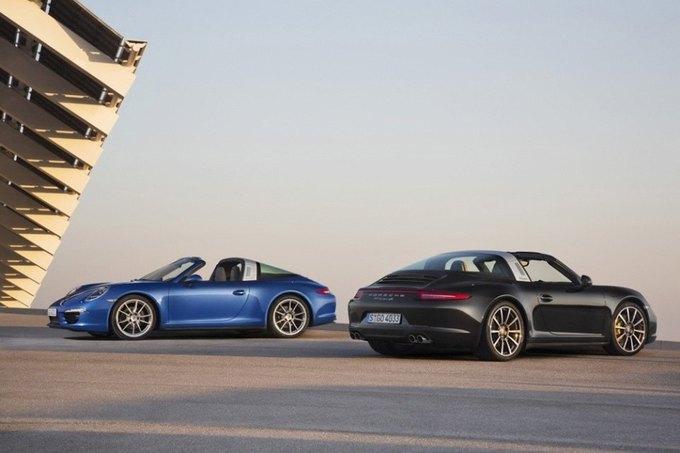 В Детройте представили новый Porsche 911 Targa. Изображение № 1.