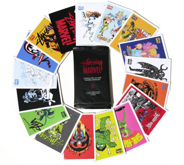Изображение 12. Совместная коллекция стритовой марки Stussy и комиксов Marvel.. Изображение № 10.