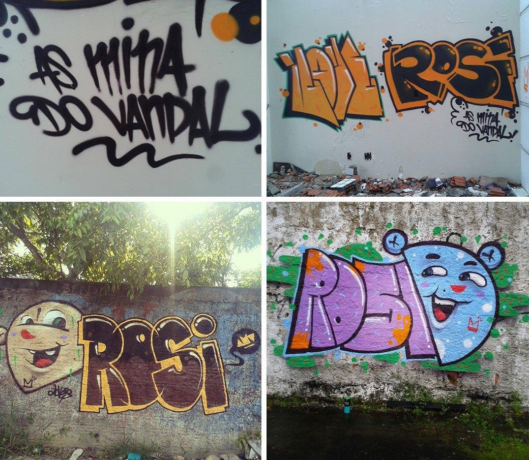 «Девушки не должны рисовать фигню в розовых цветах»: Интервью с граффити-командой As Mina Do Vandal. Изображение № 5.