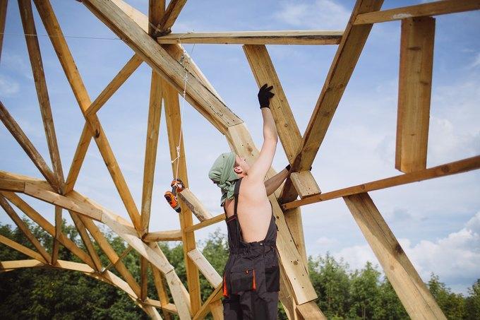 Фоторепортаж: Строительство объектов фестиваля Outline. Изображение № 3.
