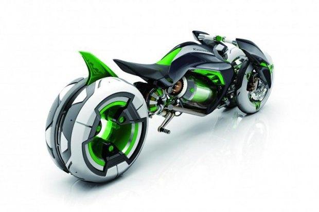 Kawasaki представили новый мотоцикл-трансформер. Изображение № 7.